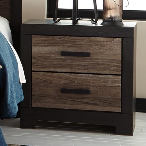 Signature Design By Ashley Harlinton Rustic Two Drawer