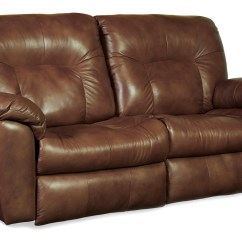 Double Reclining Leather Sofa Restoration Hardware Kensington Fabric Recliner Seater Electric