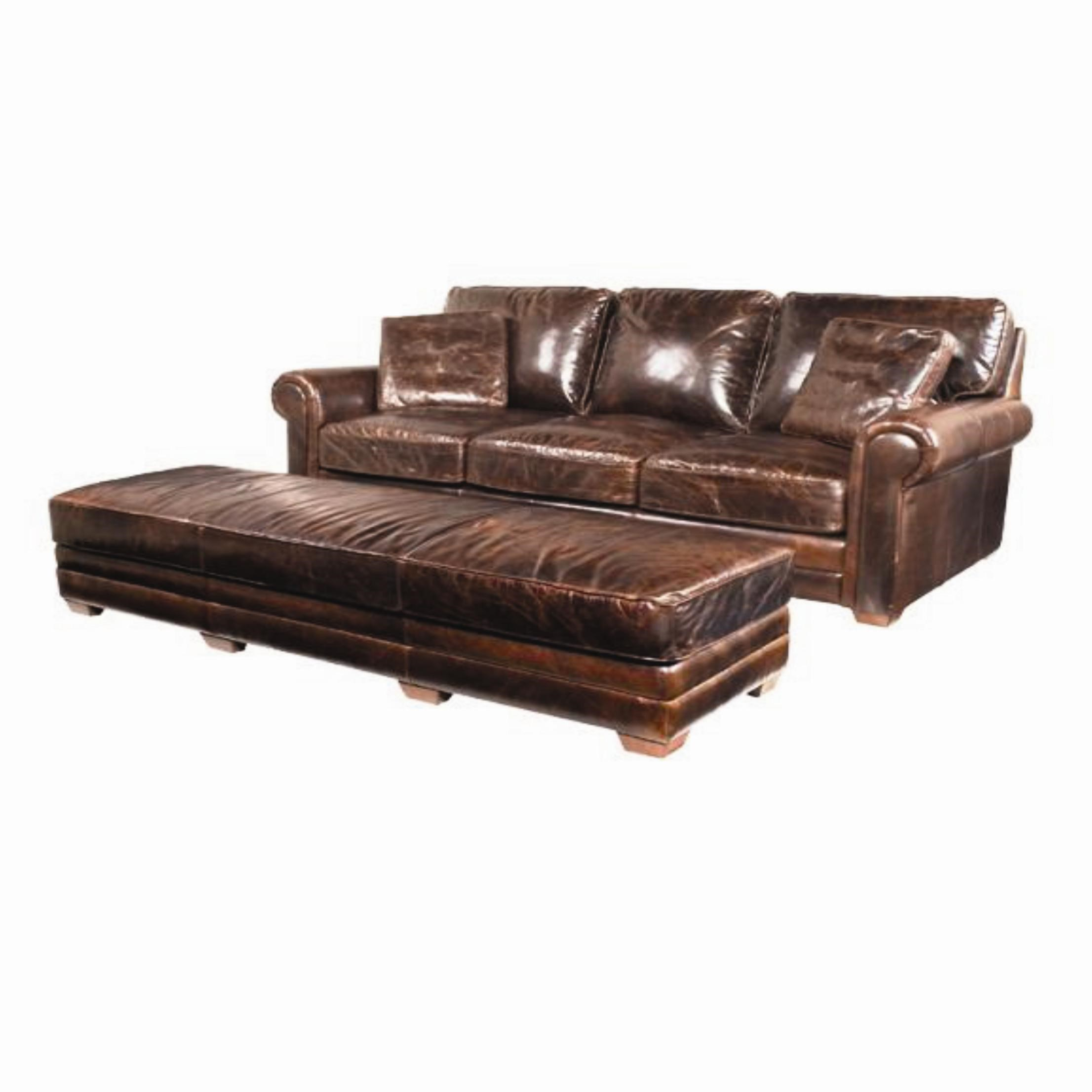 mckinley leather sofa costco villapaprika sofabord spectra home review photo