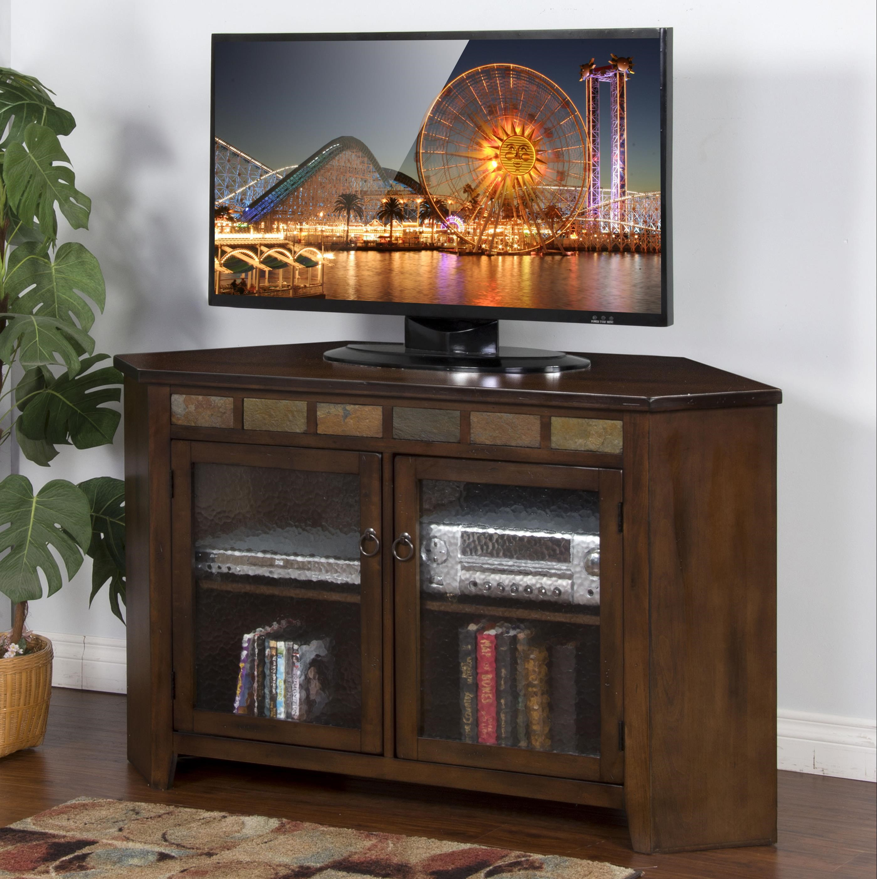 Sunny Designs Santa Fe Traditional 55 Inch Corner TV