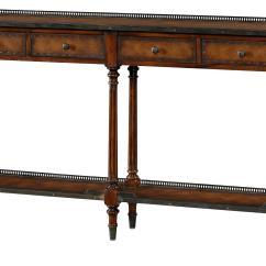 The Dump Sofa Table Grey Black Rug Theodore Alexander Furniture