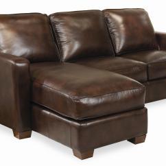 Thomasville Benjamin Leather Sofa Recliner Slipcover Metro Sectional