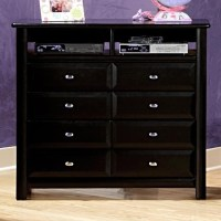 Trendwood Laguna Media Chest with 2 Open Compartments and ...
