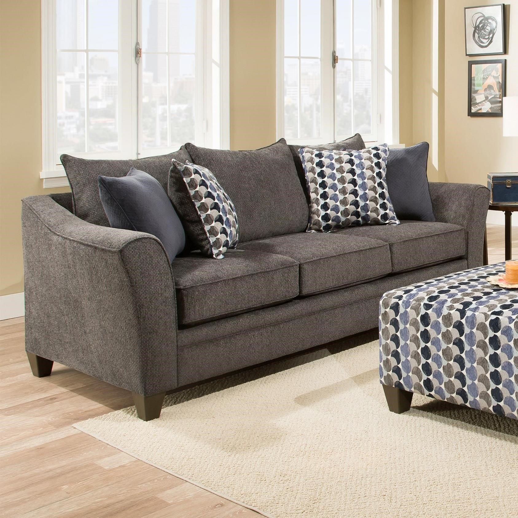 8642 transitional sectional sofa with chaise by albany van bed sofas 911 3 seater large rolled