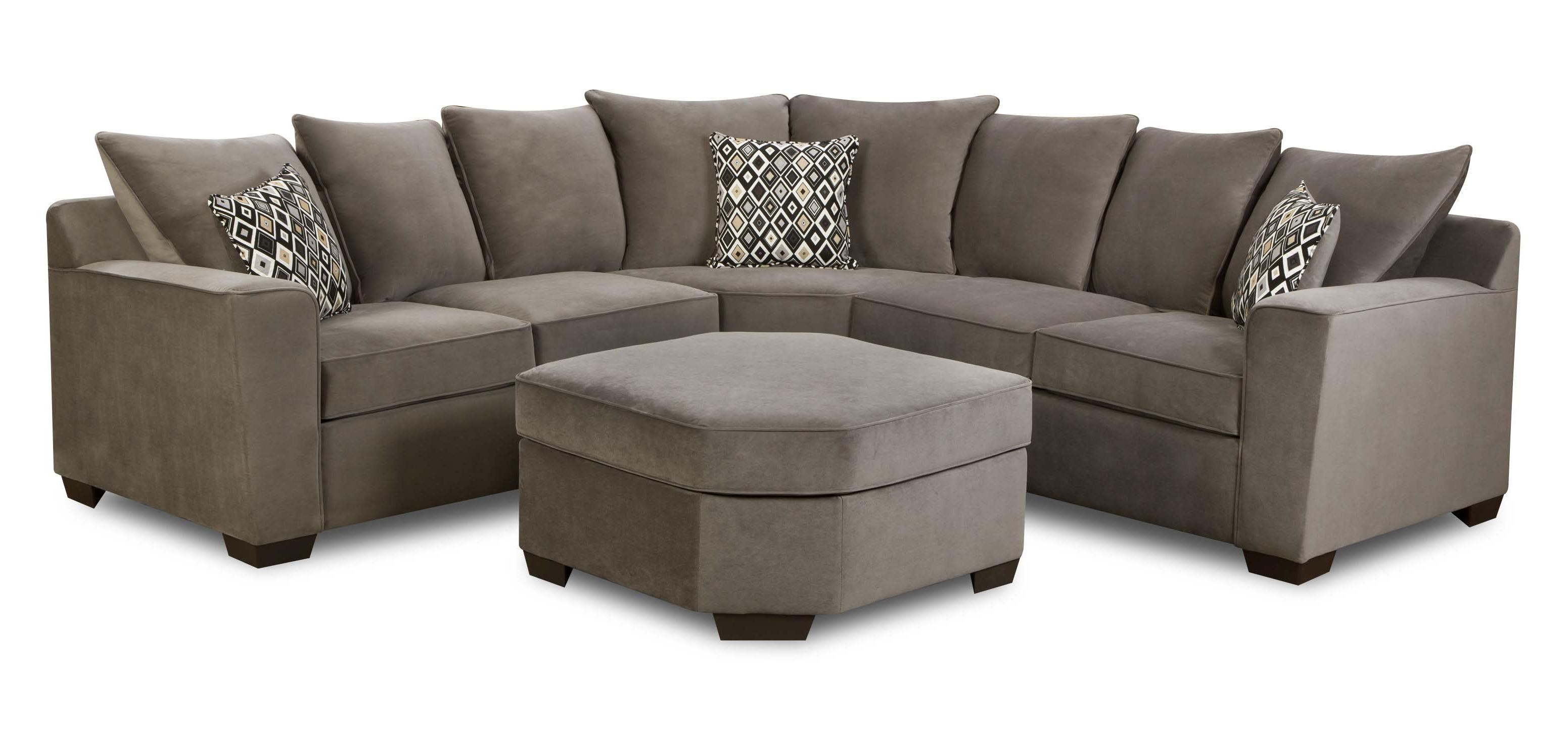 simmons small sectional sofa remove pen from leather wedge byron curved corner