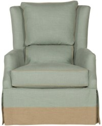 Vanguard Furniture Accent Chairs Transitional Wing Chair ...