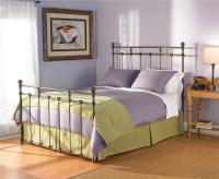Wesley Allen Iron Beds Queen Sena Iron Poster Bed - Design ...