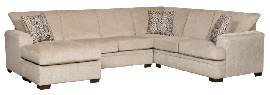 american furniture living room sectionals complete decor 6800 sectional sofa with left side chaise