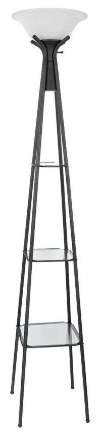 Coaster Floor Lamps Torchiere Floor Lamp with Clear Glass ...