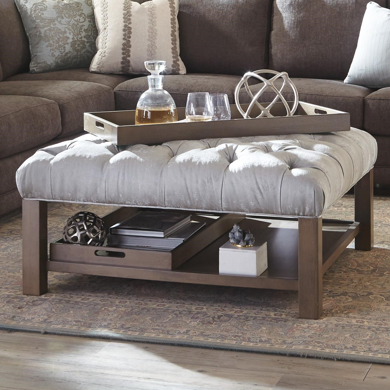 craftmaster living room furniture new interior designs for accent ottomans cocktail ottoman with button ...