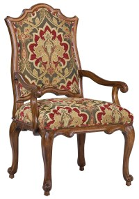 Fairfield Chairs Victorian Accent Arm Chair with Curved ...