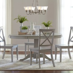4 Chair Dining Set Parson Covers Etsy Jofran Everyday Classics Round To Oval Table And