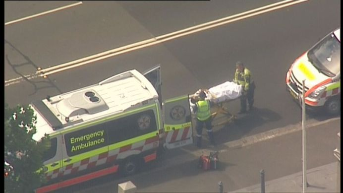 Multiple ambulance, police and fire & rescue officers were required to assist with the injured (Supplied).