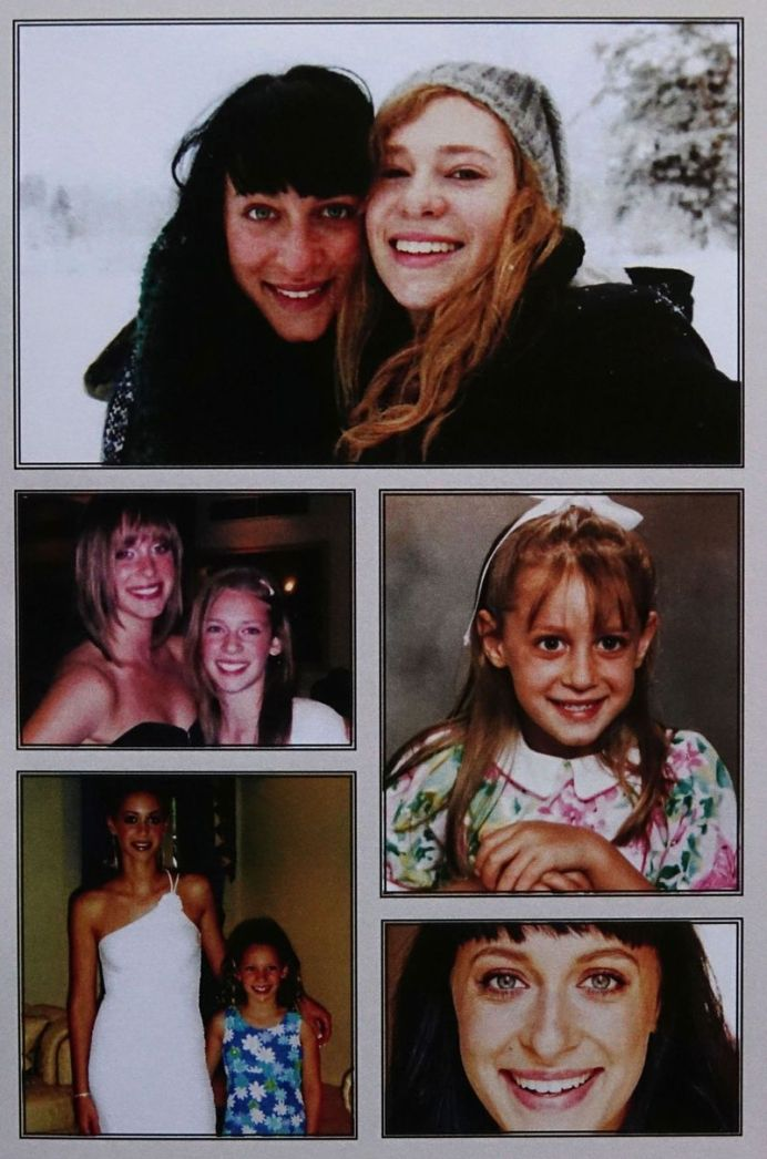 More photographs of Jessica from the funeral booklet. (Supplied)