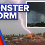 West Coast Battered By Sudden Storm Surge 9news Latest