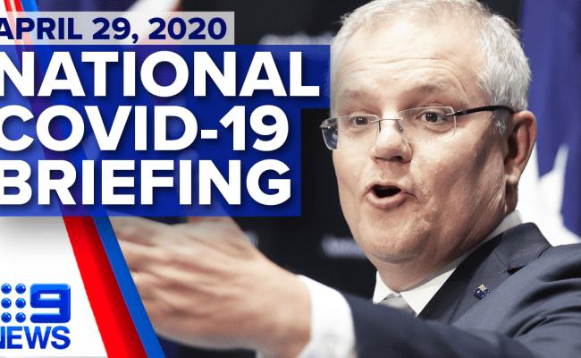 April 29 Prime Minister Update 9news Latest News 2020