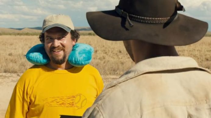 Danny McBride is starring as Mick Dundee's son in the new film. (Supplied)