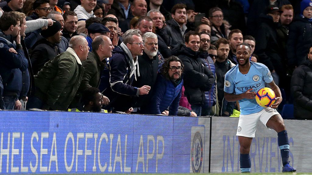 Chelsea ban supporter for life over Raheem Sterling racial abuse