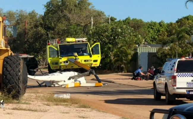 Broome Helicopter Crash Two Dead Two Critical After