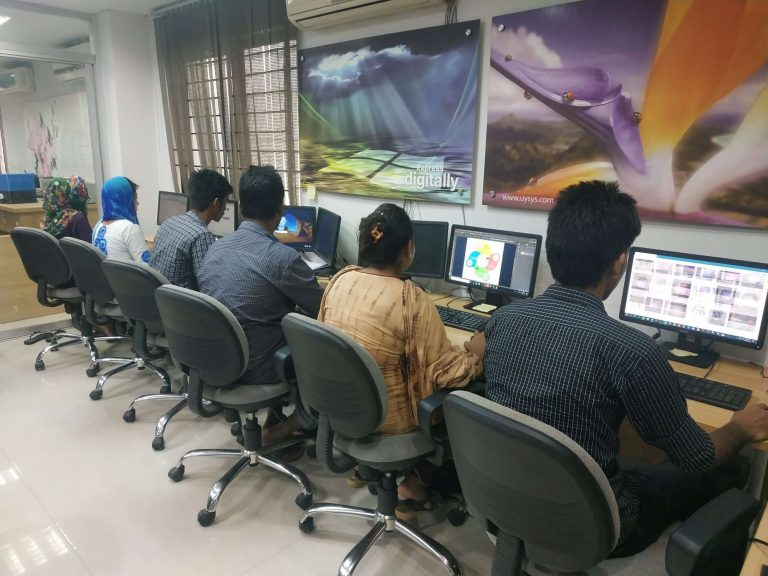 Image retouching Lab working station