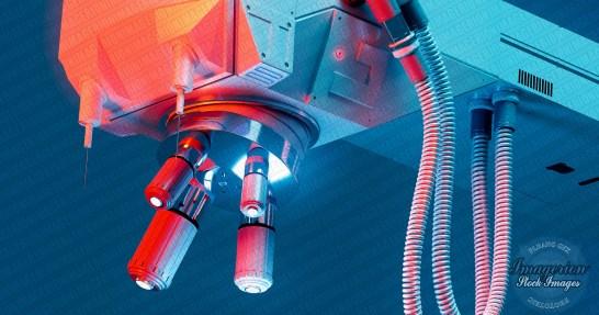 Large scale microscope concept design 3D