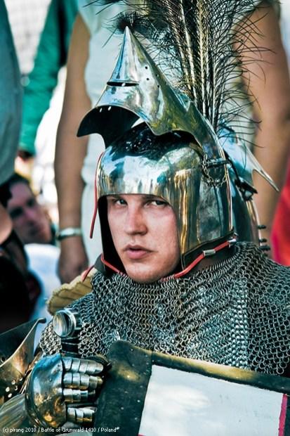 Teutonic knight portrait