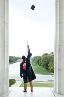 dc graduation photography