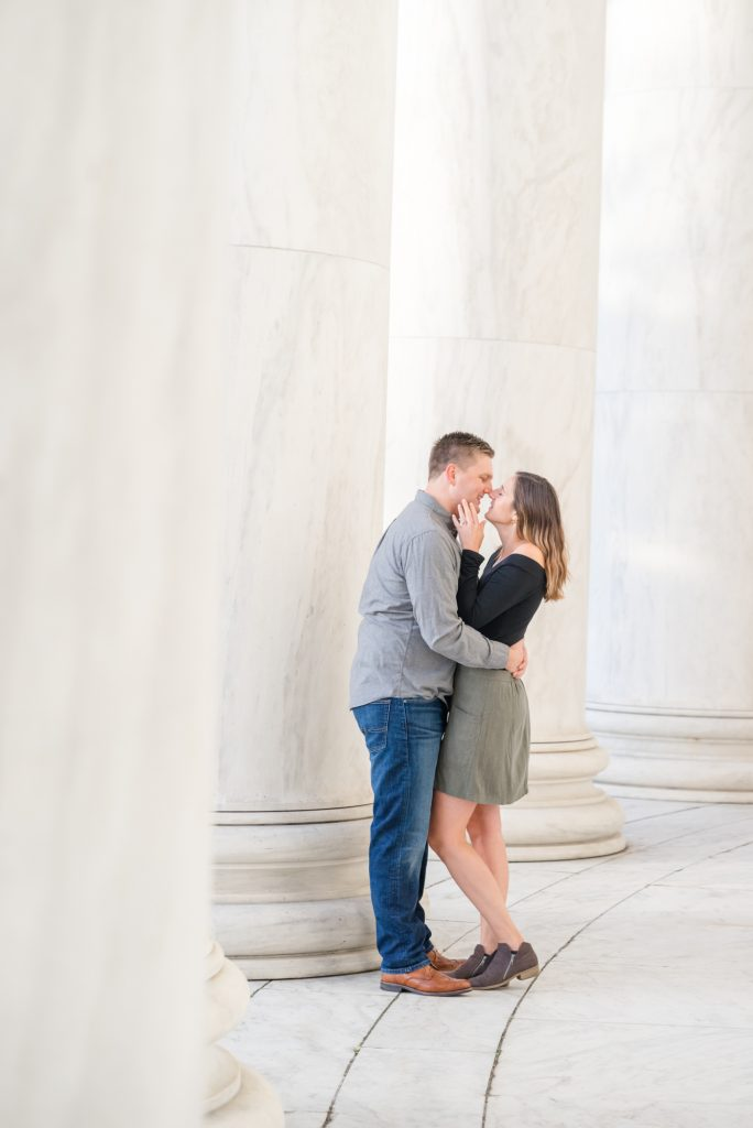 DC engagement photography