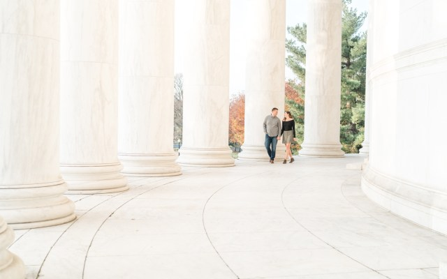 Engagement photography Washington DC