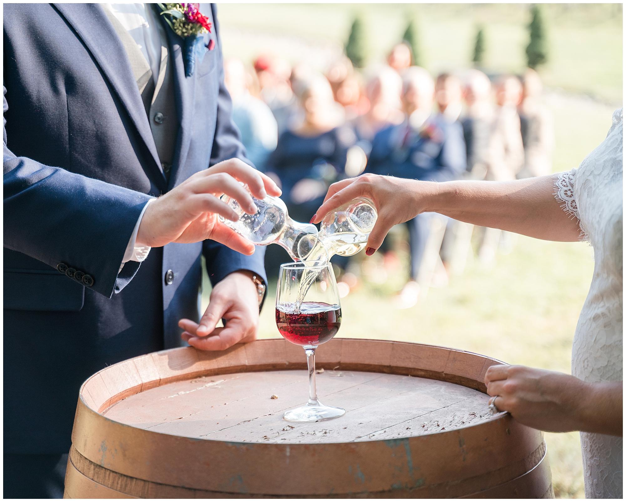 Potomac Point Winery wedding photographer