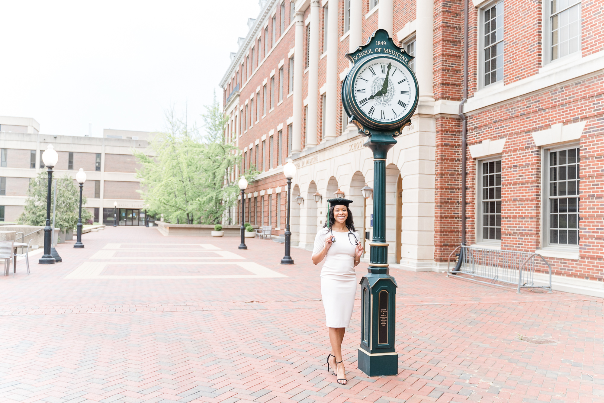 Georgetown graduation session