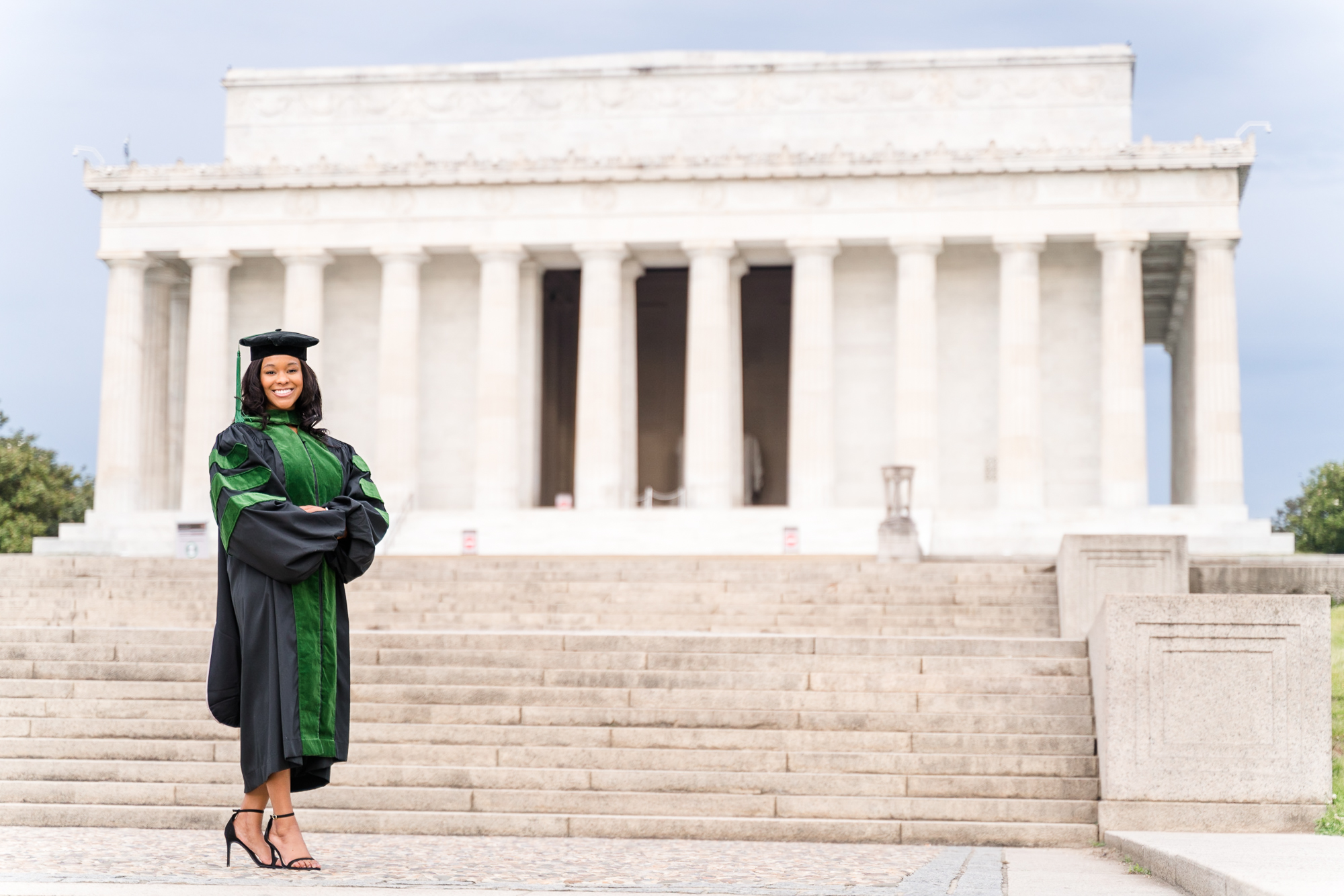 Washington DC graduation photo session