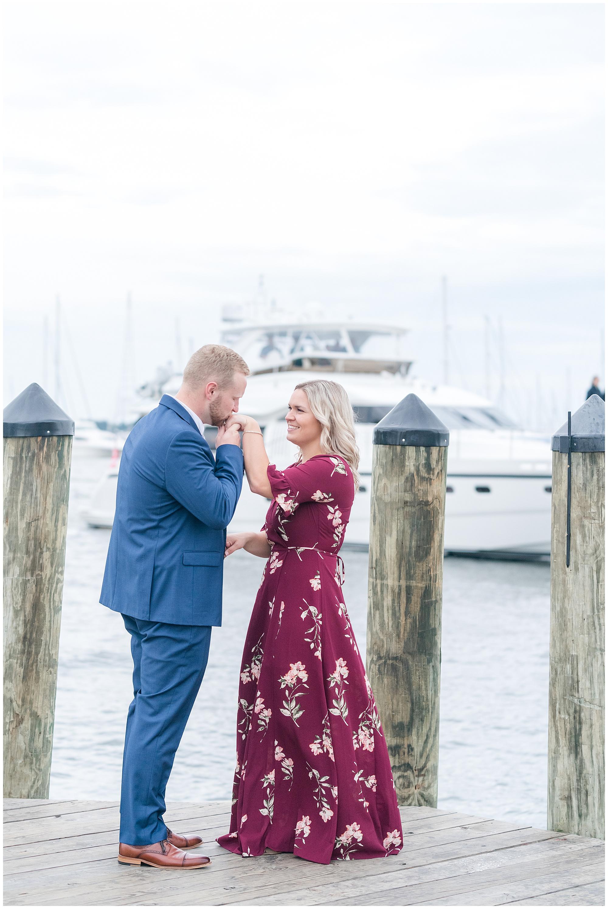 Annapolis engagement session