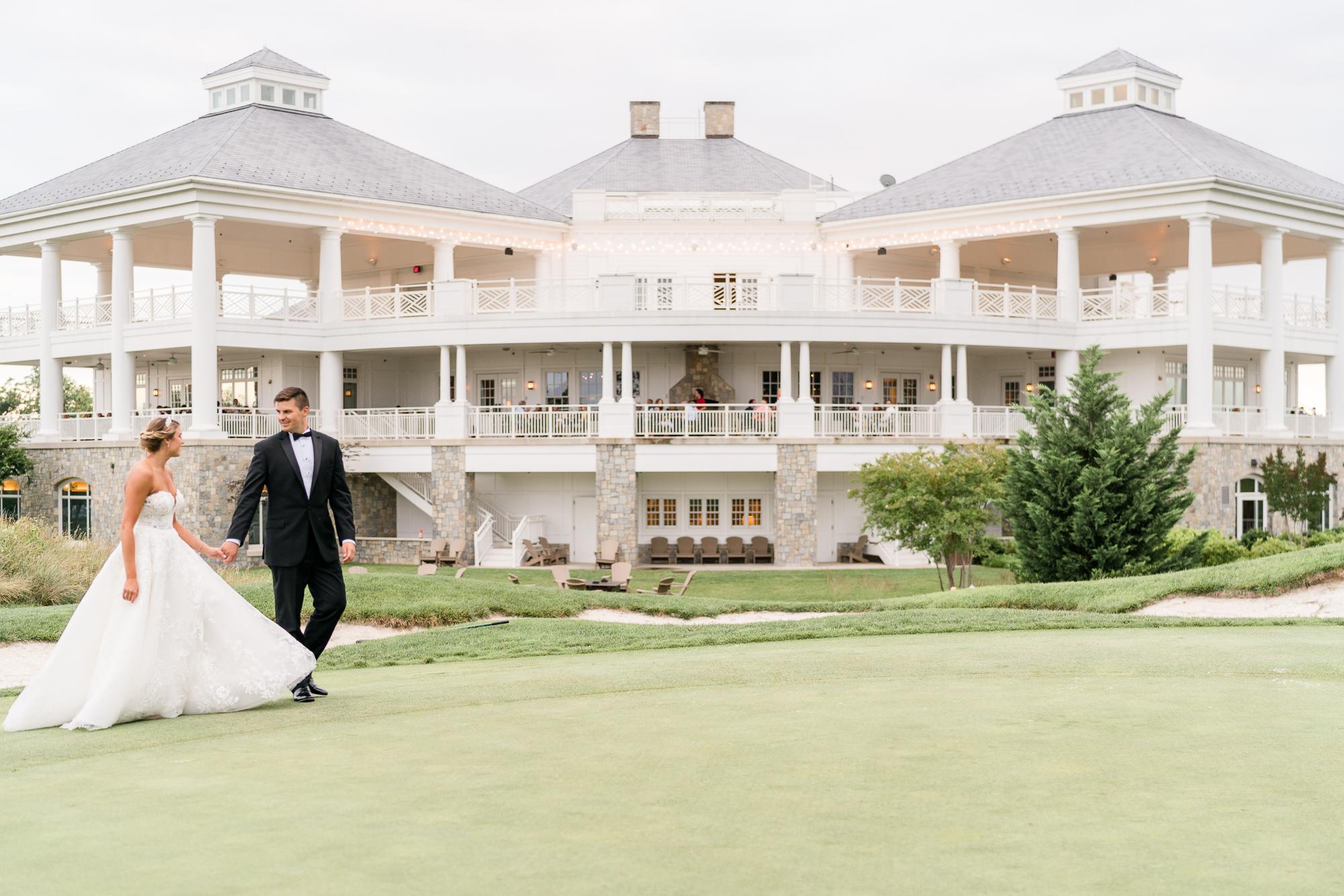 Army Navy Country Club wedding
