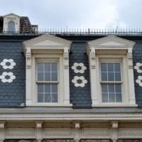 Slate Blue Mansard Roof