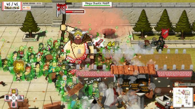 Okhlos: Olympus Edition screenshot 3