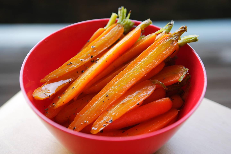 Carrots in Verjuice  Maggie Beer