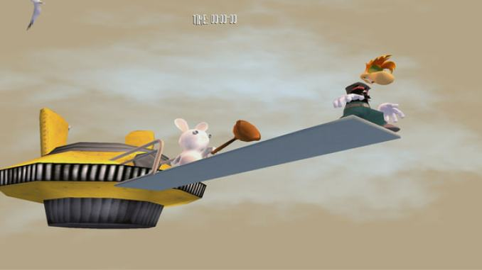 Rayman Raving Rabbids screenshot 1