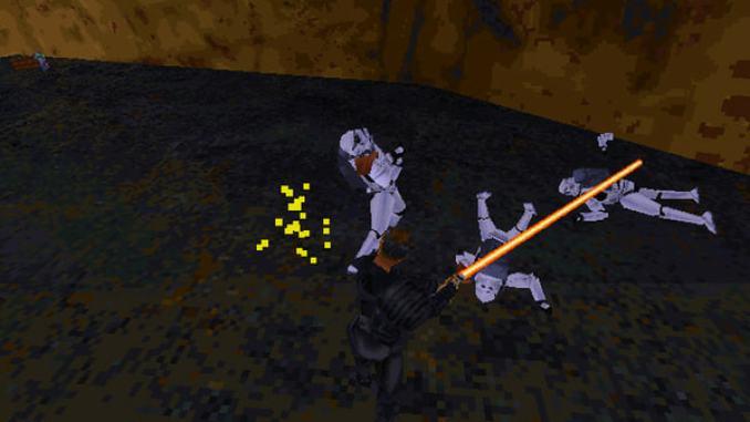 Star Wars: Jedi Knight - Dark Forces II screenshot 2