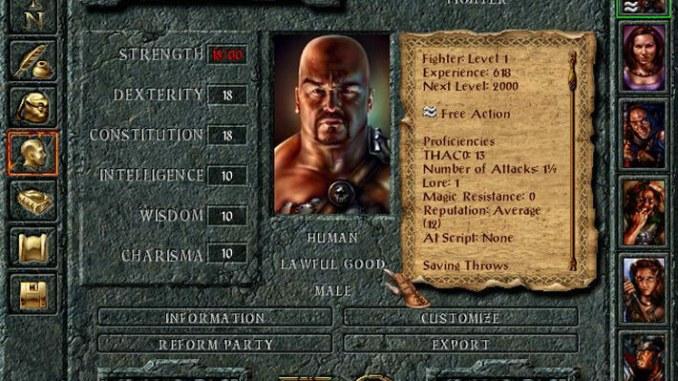 Baldur's Gate: The Original Saga screenshot 1