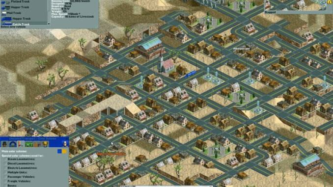 Chris Sawyer's Locomotion screenshot 1
