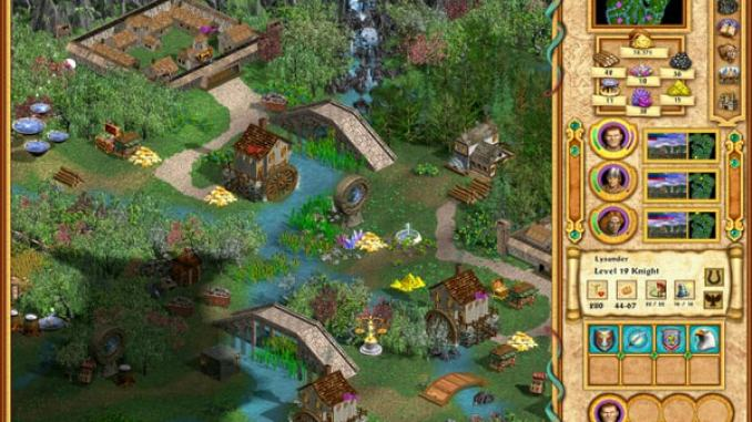 Heroes of Might and Magic 4: Complete screenshot 1