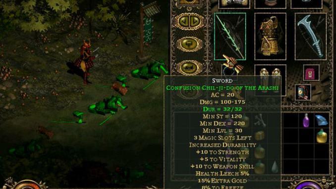 Throne of Darkness screenshot 3