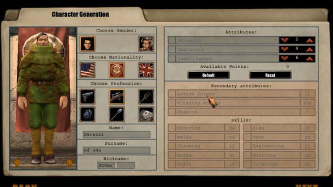 S2: Silent Storm - Gold Edition screenshot 1