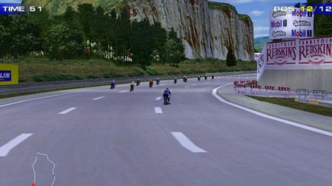 Moto Racer 2 screenshot 1