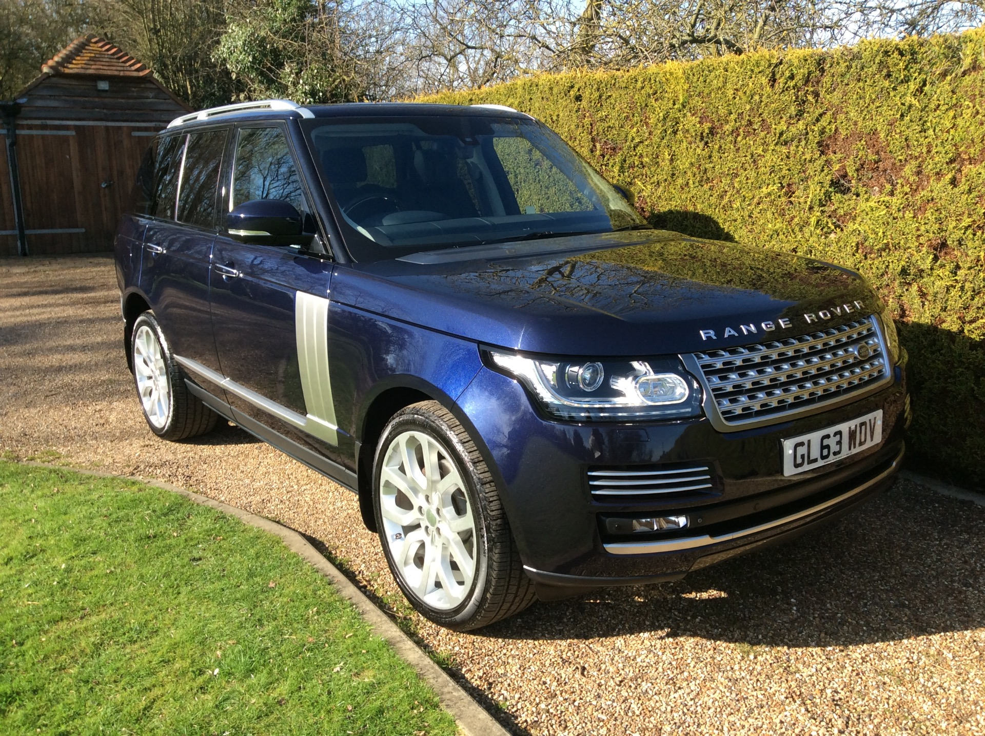 Used Land Rover Range Rover VOGUE Blue Cars for Sale