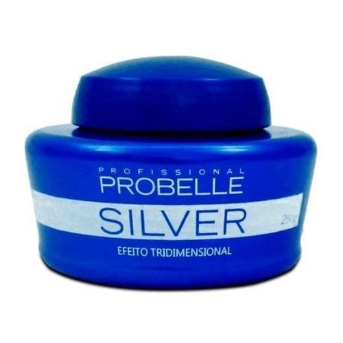 Foto 1 - Mascara Matizadora Silver Probelle 250g