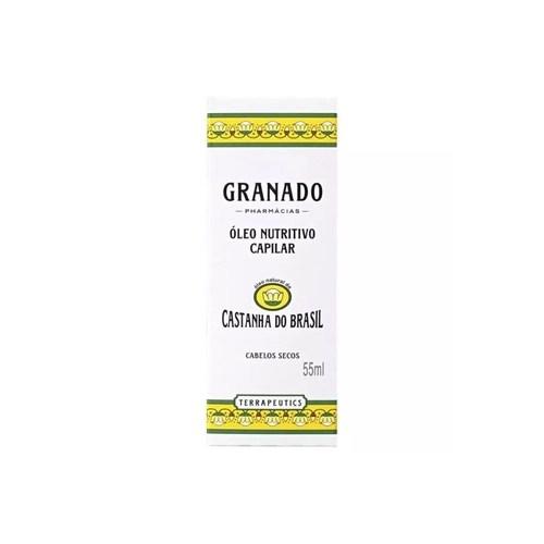 Foto 1 - Óleo Nutritivo Capilar Granado Castanhas do Brasil 55ml