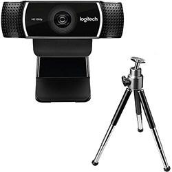 Webcam Gamer C922 Pro Stream Full HD 1080p – Logitech