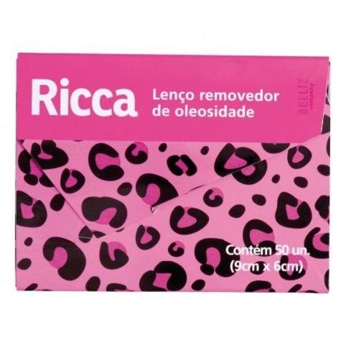 Foto 1 - Ricca Lenço Removedor de Oleosidades c/ 50 unidades (9cm x 6cm)